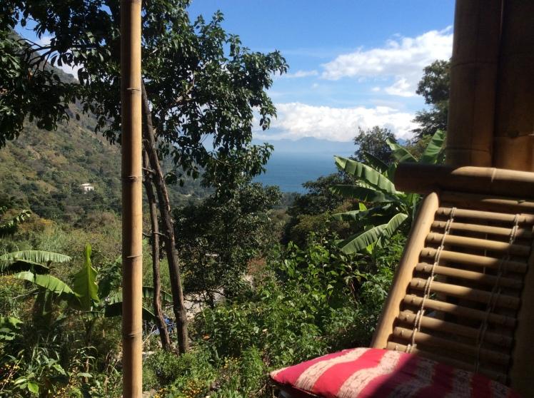 The view from Hotel Bamboo Tzusuna lake atitlan.JPG
